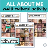 ALL ABOUT ME MULTI-CULTURAL BINGO GAME