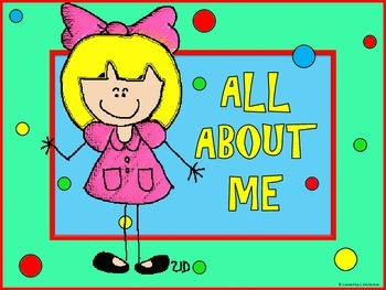 ALL ABOUT ME POSTERS - (INCLUDES 6) SECOND EDITION
