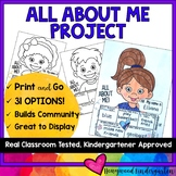 ALL ABOUT ME PROJECT ... for Back to School & Building Community