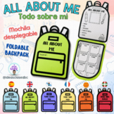 BACK TO SCHOOL- ALL ABOUT ME- TODO SOBRE MI- FOLDABLE BACK