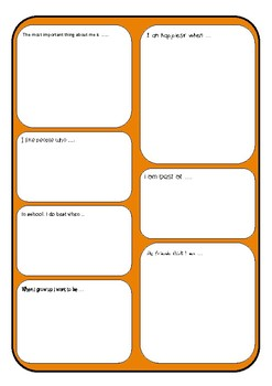 ALL ABOUT ME Transition Day, First Day, Interview Activities