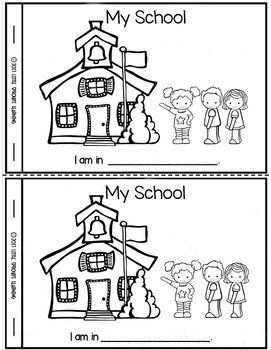 ALL ABOUT ME BOOK -Create your own (First Week of School)