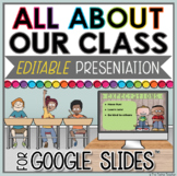 ALL ABOUT OUR CLASS TEACHER PRESENTATION IN GOOGLE SLIDES™