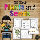 Plant Life Cycle Worksheets, Observation Journal, Crafty & Posters