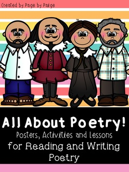 ALL ABOUT POETRY- FREEBIE Reading and Writing Unit