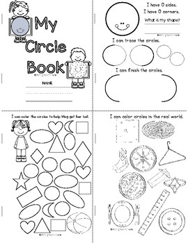 ALL ABOUT SHAPES -- MINI BOOKS AND WORKSHEETS