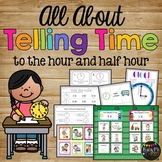 Telling Time to the Hour and Half Hour, First & Second Grade