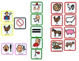 ALL ABOUT TURKEYS Communication Board and Cooking Topic Board