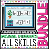 Digital Phonics ALL ACCESS Word Work BUNDLE Google Classro