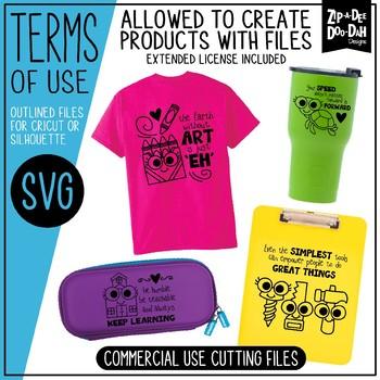 ALL ACCESS SVG Bundle / Personal & Commercial Use {Zip-A-Dee-Doo-Dah Designs}