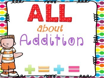 ALL About Addition: Printable Math Book
