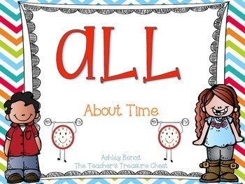 ALL About Time: A Printable Math Book
