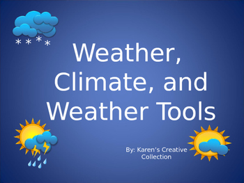 ALL About Weather and Climate