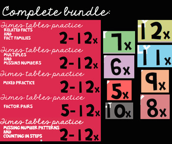 ALL FILES: Times Tables Bundle