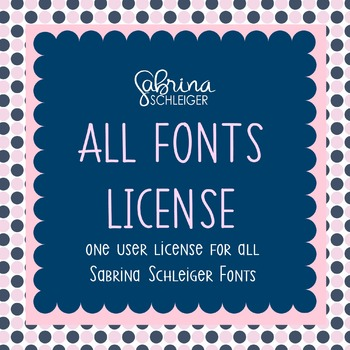 ALL Font License