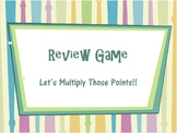 ALL GRADES/SUBJECTS- Multiplier Card Game PowerPoint Game