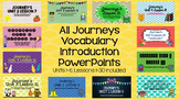 ALL Grade 2 Journeys Units 1-6 Vocabulary Introduction PowerPoints (BUNDLE!)