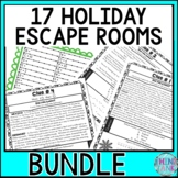 ALL HOLIDAYS ESCAPE ROOMS! Christmas, Halloween, Easter, Thanksgiving & more!