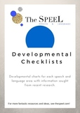 ALL-IN-ONE Developmental Checklists - Speech Pathology