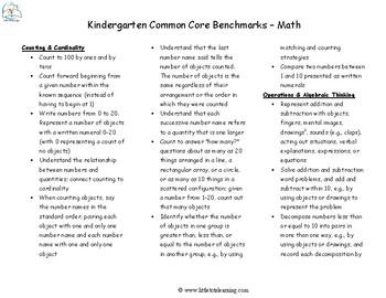 Kindergarten Math Test Prep | Kindergarten Math Assessments