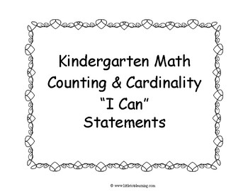 Kindergarten Math Test Prep | Kindergarten Math Assessments