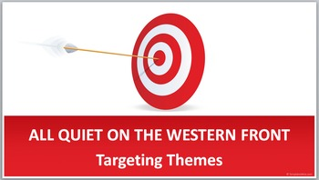 ALL QUIET ON THE WESTERN FRONT Themes Targeting