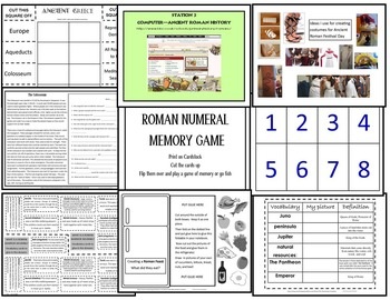 Ancient Rome Unit for Virginia SOL and National Standards
