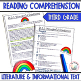 Reading Comprehension Passages and Questions Third Grade All Standards