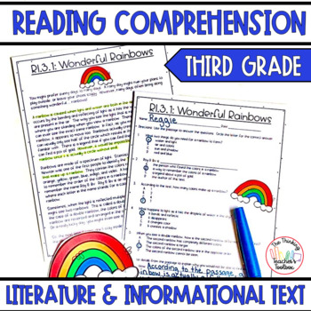 ALL STANDARDS Third Grade Literature and Informational Tex