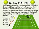 ALL STAR SPORTS MATH CHALLENGE