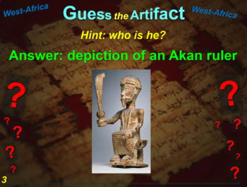 "ALL TEN ""Guess the artifact"" games for 7th grade history (200 slides in all)"