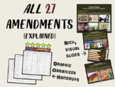 ALL THE AMENDMENTS: FUN, EASY & ENGAGING WITH VISUALS AND TEXT