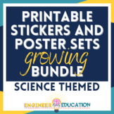 ALL THE STICKERS Growing Bundle: Printables and Stickers f