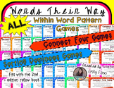 ALL Within Word Pattern Games for Words Their Way