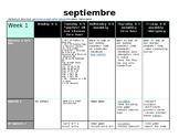 ALL YEAR LESSON PLANS - Spanish 2 & AP Spanish