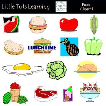 Food Clip Art 1 (Food Groups Clip Art)