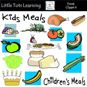 Food Clip Art Mega Bundle 4 (Food Groups Clip Art)