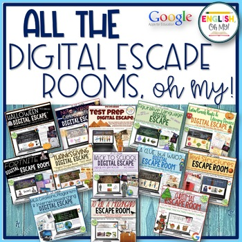 ALL the Digital Escape Rooms, Oh My!