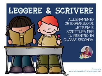 ALLENAMENTO DI LETTURA E SCRITTURA - classe seconda