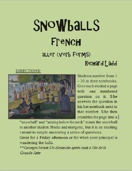 ALLER Snowballs FRENCH