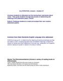 ALLITERATION, a lesson - Grades 5-7