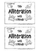 Academic Vocabulary ALLITERATION with S Blends