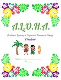 ALOHA Binder