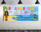 ALOHA theme - Classroom Decor: LARGE BANNER, In Our Class, printable