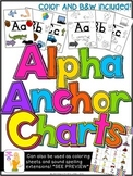 ALPHA ANCHOR CHARTS - {Alphabet charts for the classroom}