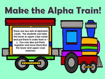 ALPHA TRAIN