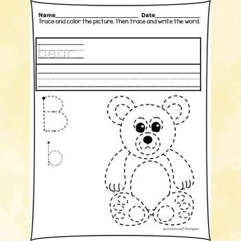 Alphabet Activities: Letter B (Alphabet Letter of the Week)