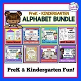 ALPHABET ACTIVITIES BUNDLE for PreK - KINDERGARTEN