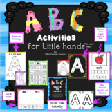 ALPHABET ACTIVITIES for Little Hands designed for preschoo