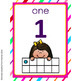 ALPHABET AND 1 TO 20 TEN FRAMES NUMBER POSTERS